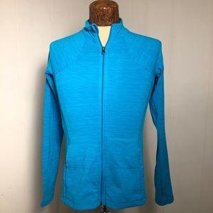 Womens Blue Athletic Wear Jacket. Size medium